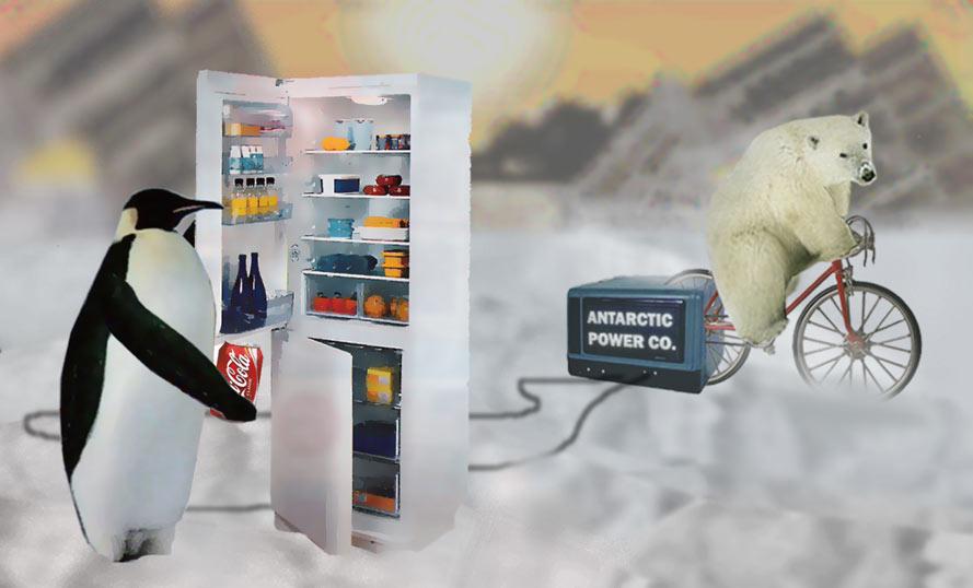 Photomontage - Antarctic Power Co.