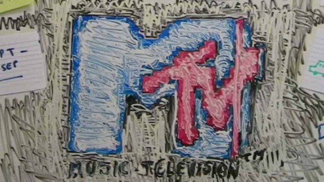 MTV Retro-lution // Office Breakout // Whiteboard animation