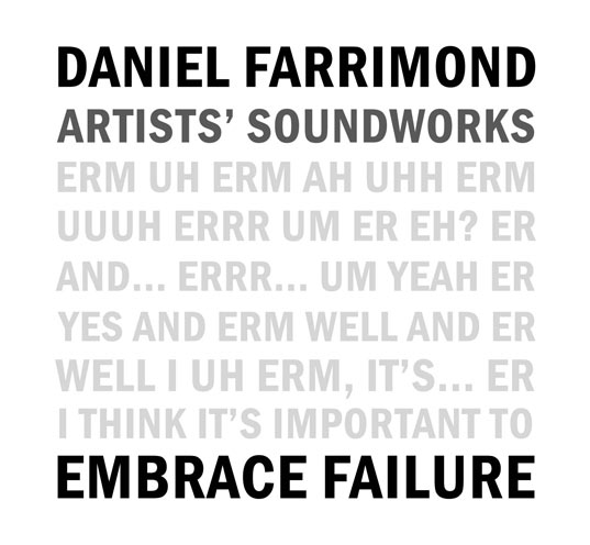 Embrace Failure front cover