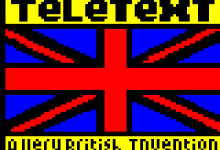 Teletext - A Very British Invention