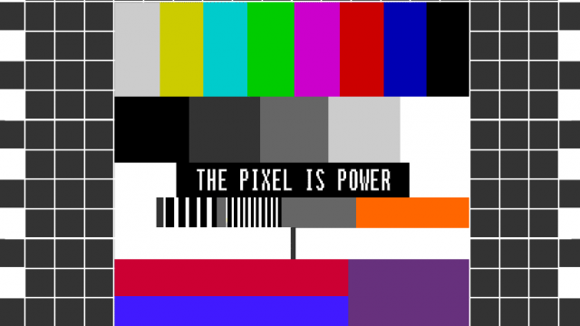 Academic Dissertation // The Pixel is Power // The Teletext Aesthetic