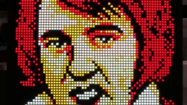 Pixel animations // 64*64 LED Pixel Art // Super PIXEL