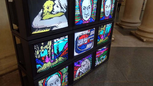 From 1910 to 198X // Teletext art at Tate Britain