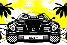 Video game art // Slipstream Racing