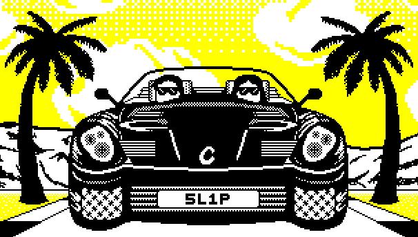 Video game art // Slipstream Racing