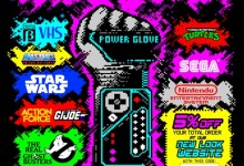 Promotional flyer // Warners Retro Corner // Ceefax style promo material
