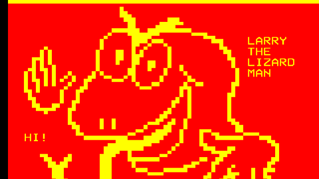 Teletext art workshop // St Helens vs The Lizards // St Helens Central Library