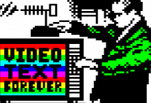 Teletext art // ARD Text 35th anniversary // From 1980 to 2015