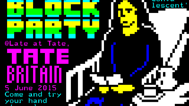 Teletext workshop // Block Party I // Late at Tate Britain