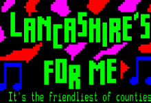 Teletext music video // Lancashire's For Me by the Lancashire Hotpots